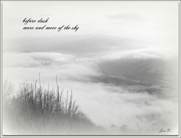 """""""before dusk / more and more of the sky' by Janina Kolodzieczyk"""