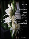 """'spring begins a beautiful """"don't disturb"""" sign on my daughter's room' by Ken Sawitri"""