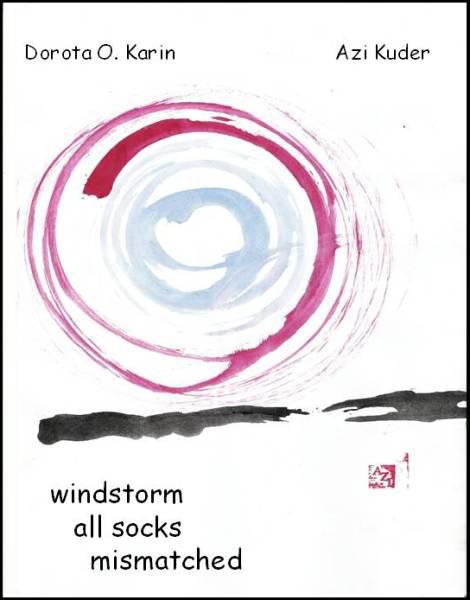 """windstorm / all socks / mismatched' by Dorota Ocinska Karin. Art by Azi Kuder"