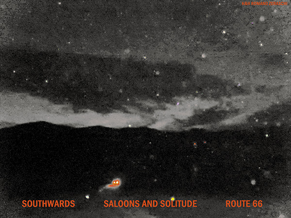 'southwards / saloons and solitude / route 66' by Romano Zeraschi
