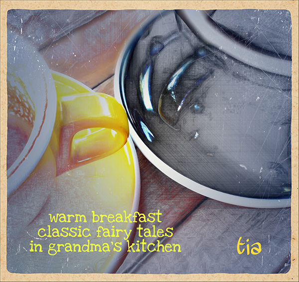 'warm breakfast / classic fairy tales / in grandma's kitchen' by Tia
