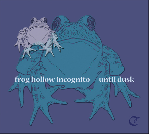 'frog hollow incognito until dusk' by Cherie Hunter Day. This haiku was first published in Modern Haiku 35:1, January 2004