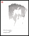 """'before the snowline� / swans / waiting for winter"""" by Patrick M. Pilarski. Haiku first published in DailyHaiku, Cycle 6, 2009."""