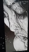 'in the black hat— / scarecrow / accepts me' by Lech Szeglowski. Art by Emil Kąkol.
