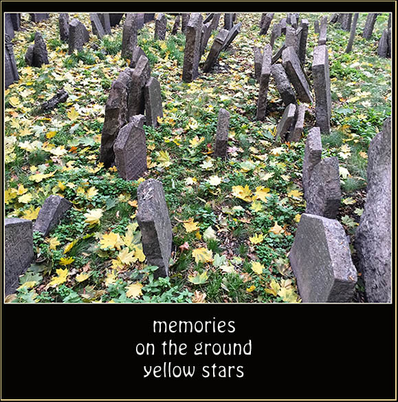 'memories / on the ground / yellow stars' by Daniel Birnbaum