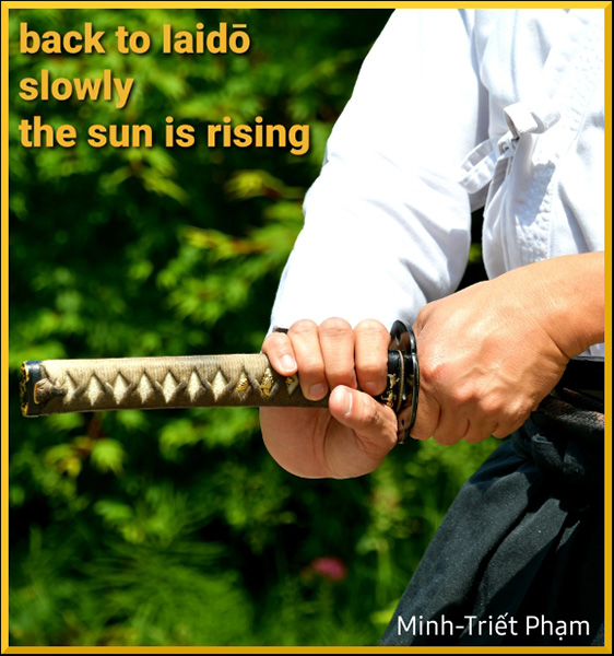 'back to laido / slowly / the sun is rising' by Minh-Triet Pham