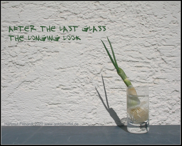"'after the last glass / the longing look"" by Hartmut Fillhardt"